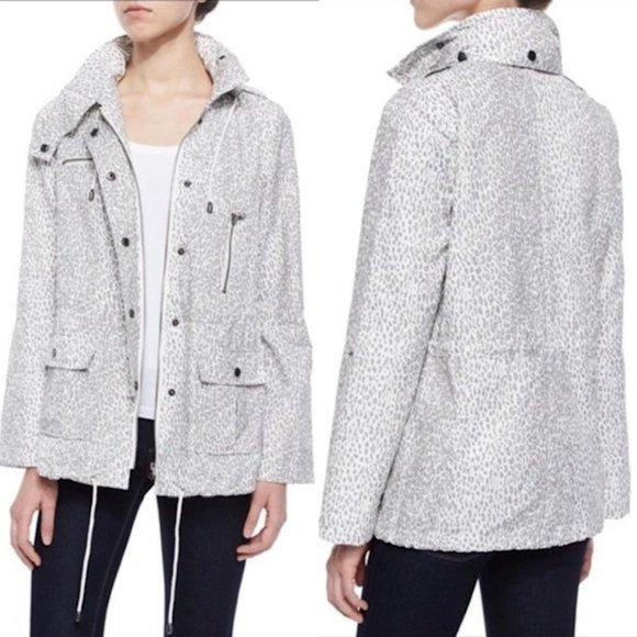Joie Jackets & Blazers - Joie Barker Anorak Leopard Cheetah Print Jacket